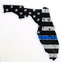State of Florida Blue Line Decal 4