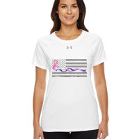 Under Armour Blue-Pink Intertwined Ribbon with Soft Flag Thumbnail